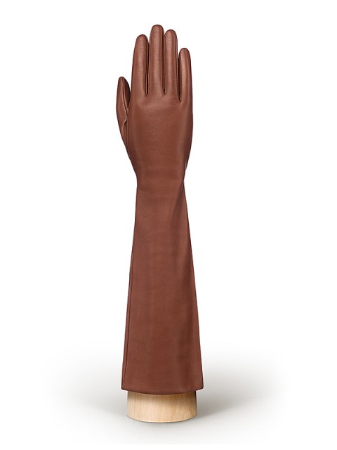 Длинные перчатки ELEGANZZA (Элеганза) F-IS0585 Коричневый фото №1 01-00010668