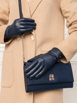 Классические перчатки Labbra  LB-0200 Синий фото №2 01-00027438
