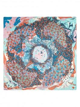 Платок ELEGANZZA (Элеганза) D43-1212 Голубой фото №2 01-00027649
