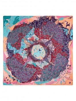 Платок ELEGANZZA (Элеганза) D43-1212 Фиолетовый фото №2 01-00027653