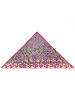 Платок ELEGANZZA (Элеганза) D12-1180 Розовый фото №1 01-00014956