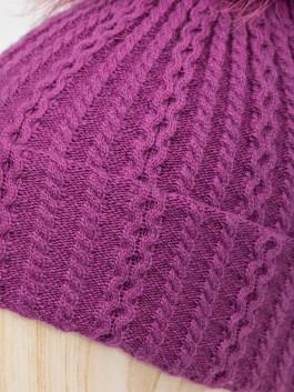 Шапки Labbra  LB-D77017 Фиолетовый фото №3 01-00028264