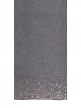 Палантин ELEGANZZA (Элеганза) WF42-0652 Темно-серый фото №2 01-00027634