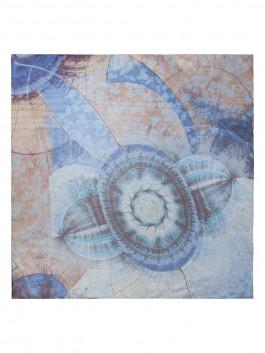 Платок ELEGANZZA (Элеганза) D40-1196 Синий фото №1 01-00018819