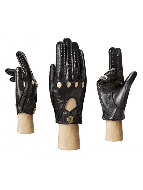 Автомобильные перчатки ELEGANZZA (Элеганза) HS011Wbezpodkladki Черный фото №1 00112156