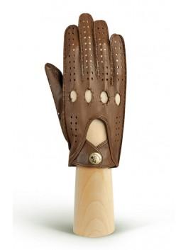 Автомобильные перчатки ELEGANZZA (Элеганза) HS011Wbezpodkladki Коричневый фото №1 00115842