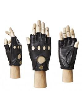 Автомобильные перчатки ELEGANZZA (Элеганза) HS012Wbezpodkladki Черный фото №1 00112157