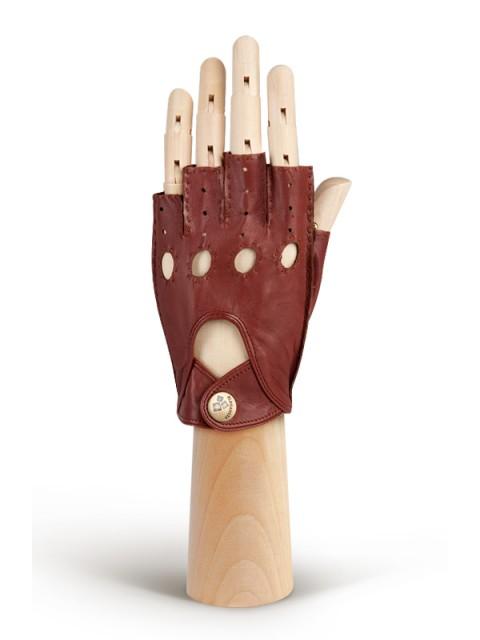 Автомобильные перчатки ELEGANZZA (Элеганза) HS012Wbezpodkladki Коричневый фото №1 00115845