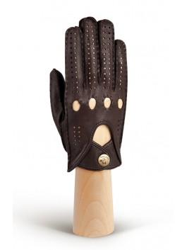 Автомобильные перчатки ELEGANZZA (Элеганза) HS101Wbezpodkladki Коричневый фото №1 00115846