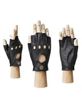 Автомобильные перчатки ELEGANZZA (Элеганза) HS102Wbezpodkladki Черный фото №1 00109438