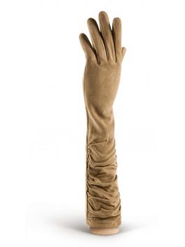 Длинные перчатки ELEGANZZA (Элеганза) IS02010shelk Бежевый фото №1 00113355