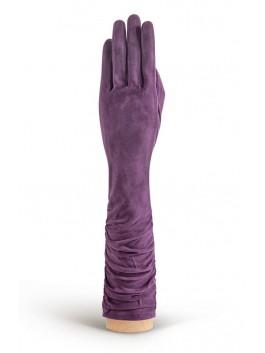 Длинные перчатки ELEGANZZA (Элеганза) IS02010sherstkashemir Лиловый фото №1 00113360