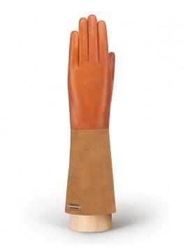 Длинные перчатки ELEGANZZA (Элеганза) IS02059 Оранжевый фото №1 01-00010342