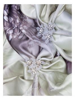 Бижутерия для платков ELEGANZZA (Элеганза) R506 Золотой фото №2 01-00017734
