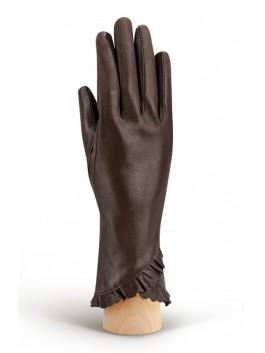 Классические перчатки ELEGANZZA (Элеганза) IS803shelk Коричневый фото №1 00111286