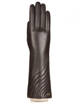 Длинные перчатки Labbra  LB-0308 Коричневый фото №1 01-00009428