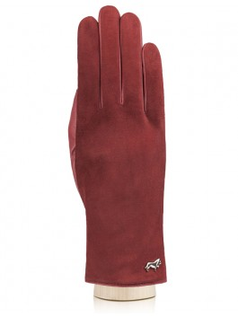 Классические перчатки Labbra  LB-4707 Бордовый фото №1 01-00003695