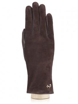 Классические перчатки Labbra  LB-4707 Коричневый фото №1 01-00003693